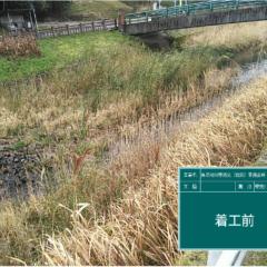 県単河川等防災(伐採)業務委託(1-2工区)